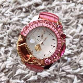 水晶木馬仔手錶