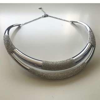 【Swarovski】Cypress Torque Crystal Collar Necklace Swarovski Jewelry 水晶 頸鍊
