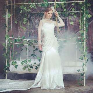 Fairy tale wedding gown
