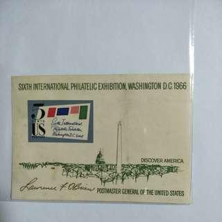US 1966 Sixth International Expo