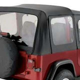 Soft Top Jeep CJ & YJ Pavement End by Bestop