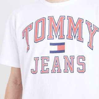 🚚 Tommy90年代JEANS英文字母T-shirt