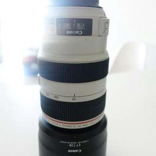 10/10 Mint condition. Canon 70-300L f/3.5-5.6