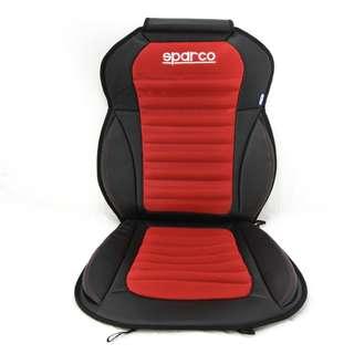 AUTHENTIC SPARCO BANTALAN JOK KURSI MOBIL 3D SPORTY. Warna : Merah. Berat : 1,34kg.