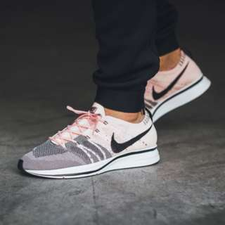 bdb04eabe7ea (PO) Nike Flyknit Trainer Sunset Tint Pink