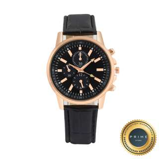 Jam Tangan Pria - Prime Luscio - Black Gold (Cleareance Sale)