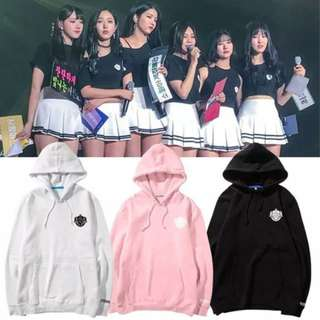Preorder - GFRIEND HOODIE SIZE ; S~3XL COLOUR AS SHOWN ONLY exc.pos