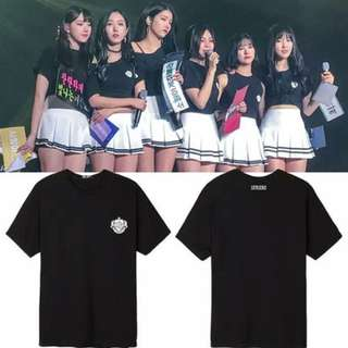 Preorder - GFRIEND TSHIRT SIZE ; S~3XL COLOUR AS SHOWN ONLY exc.pos