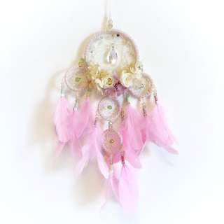 Jewel Pink Dreamcatcher (Preserved roses last 1 - 3 years)