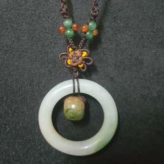 🚚 福綠壽玉石項鍊
