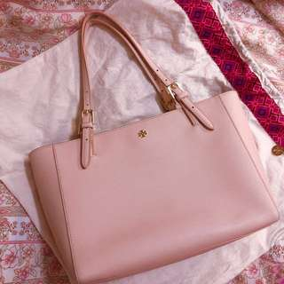 🌸Tory Burch York Tote Bag Light Oak💓