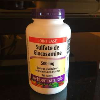 Webber naturals Glucosamine Sulfate 500mg (360 tablets)