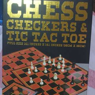 Chess, Checkers, and Tic Tac Toe