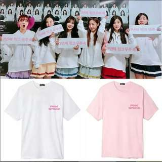 Preorder - APINK PINK SPACE TSHIRT SIZE ; S~3XL COLOUR AS SHOWN ONLY exc.pos