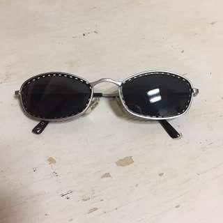 90's 復古 金屬 洞洞 底片 墨鏡