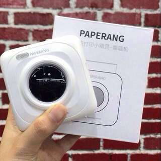 Paperang Portable Bluetooth 4.0 Pocket Paper Print