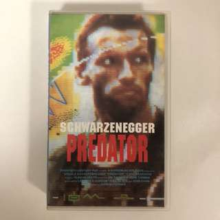 Schwarzenegger's PREDATOR Videotape