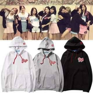 Preorder - TWICE CANDY POP HOODIE SIZE ; S~3XL COLOUR AS SHOWN ONLY exc.pos