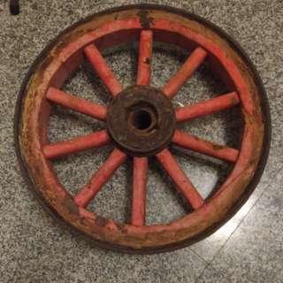 早期牛車輪