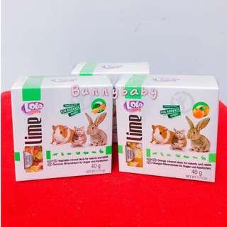 🚚 【Bunnybaby】LOLO小動物礦物質磨牙石(柑橘)40g