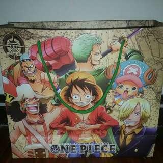 One Piece Annime Paper Bag