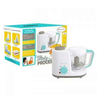 Autumnz - 2 in 1 Baby Food Processor (Steam & Blend) - Turqouise