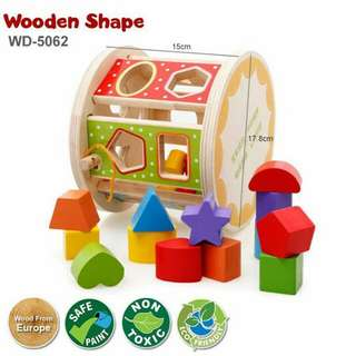 Wooden Shape Sorting Puzzle