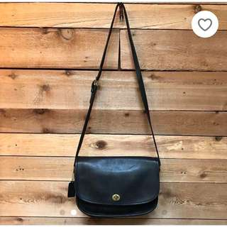 coach crossbody bag (vintage)
