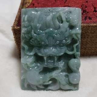 ⭐Pendant GradeA Myanmar Jade