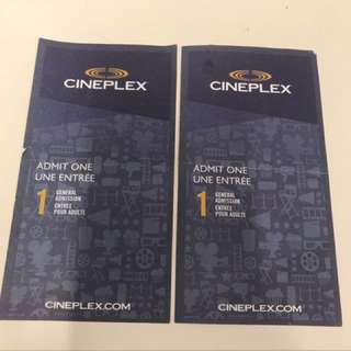 Two Cineplex General Admission