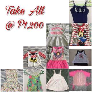 LOVE BUNDLE Take All Branded Baby Clothes 6-12mos