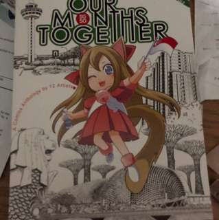 Limited edition'our months together 'Book,not on sale anywhere