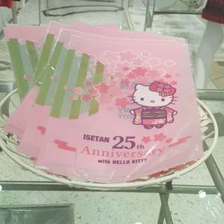 Hello Kitty Folder File Better Than Melody Trolls Tsum ez charm Samsonite faceshop shu uemura maybelline
