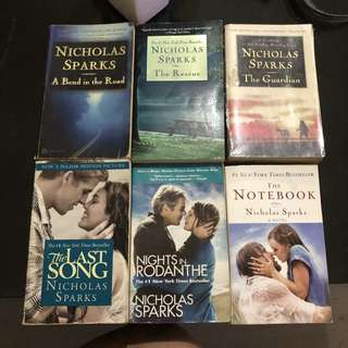 Nicholas Sparks books 500 all in