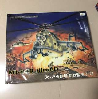 Mi-24D Hind-D 1/48 Scale Static Aircraft Series