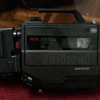 National NV-M3 VHS Video Camera (Vintage)