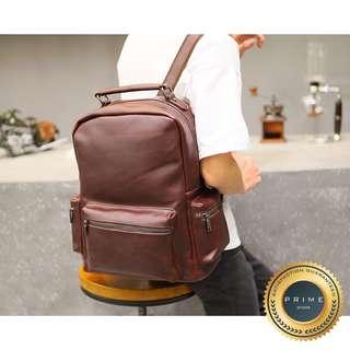 Tas Kulit Pria - Backpack Leather