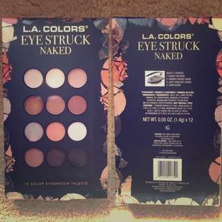 🔥INSTOCK🔥L.A. Colors Eye Struck Naked