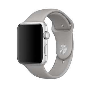 BN 42mm Apple Sports Watch Strap in Concrete