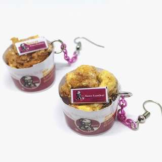 KFC earrings