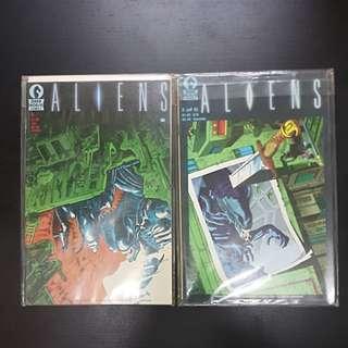 2 ALIENS comics