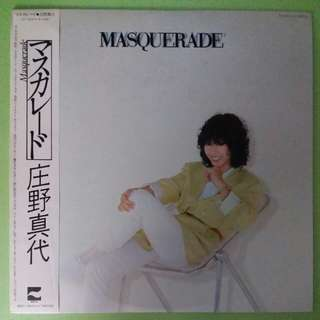 "【舊版""Pop""黑膠唱片】Mayo Shouno 庄野真代 ~ Masquerade (1978 Japan)"
