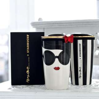 Starbucks Alice + Olivia Ceramic Mug