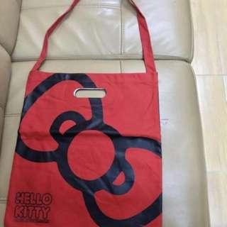 全新40週年Hello Kitty布袋,兩面唔同顏色及圖案