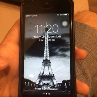 iPhone 5 16gb Space Gray