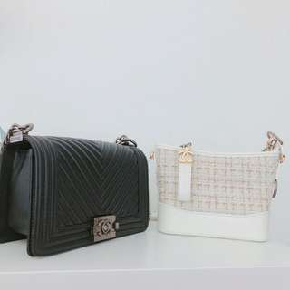 Chanel $400 each @ Le Boy @ Gabrielle