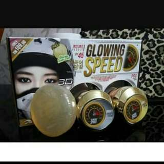 DMS360° Glowing Speed SkinCare 3 In 1