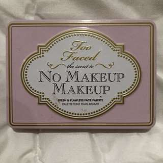 No Make Up, Make Up Palette