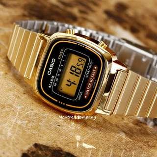 Montres Company香港註冊公司(25年老店) CASIO standard LA670 LA670WGA LA670WGA-1 有現貨 LA670WGA1