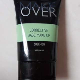 make over corrective base make up greenish